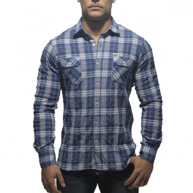 SHT08 ENVY COTTON CHECKED SHIRT