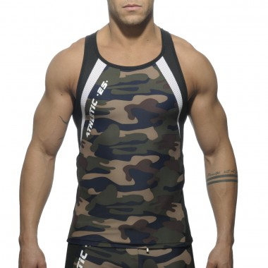 SP042 CAMOUFLAGE RUNNING TANKTOP