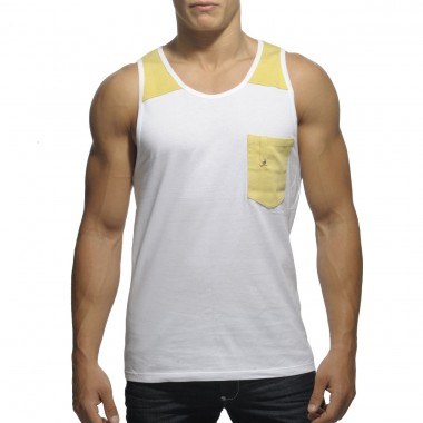 TS146 DYED WASH TANK TOP