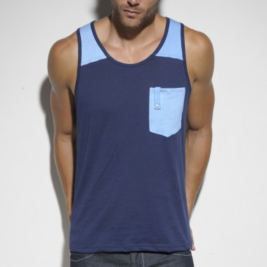 TS157 DYED WASH TANK TOP