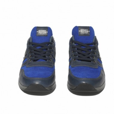 SNL17 LEATHER COMBINATION SNEAKERS