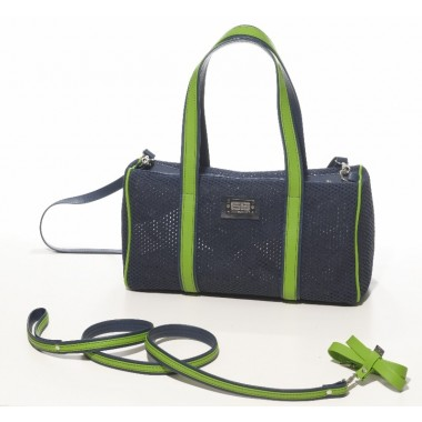 DGY01 SMALL DOG CARRIER WITH NECKLACE AND LASH