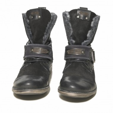 BOOT01 SYNTHETIC FUR MILITARY BOOT