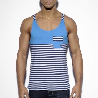 TS137 LOOSE FIT TANKTOP SAILOR STYLE