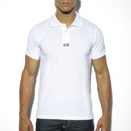 POLO17 ES COLLECTION RUBBER BADGE POLO T-SHIRT