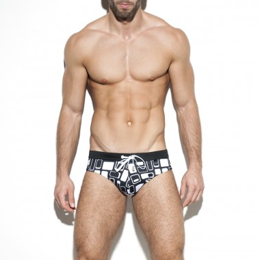 1901 RETRO SWIM BRIEF