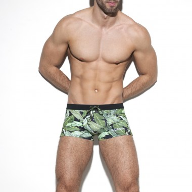 1907 LEAVES SWIM BOXER