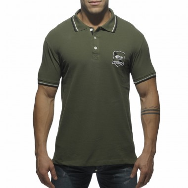 POLO07 SLIM FIT EMBROIDERED POLO