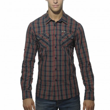 SHT007 COTTON CHECKED SHIRT