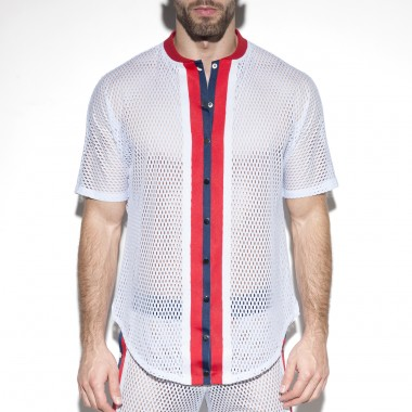 SP214 OPEN MESH SHIRT