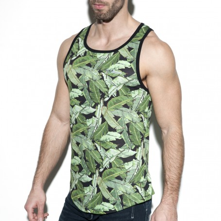 TS236 LEAVES TANKTOP