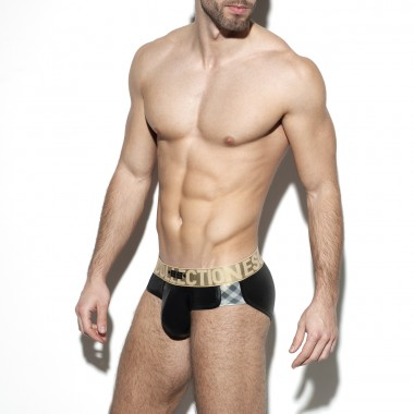 UN317 SQUARES GOLD BRIEF