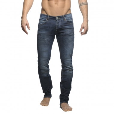 ESJ010 - OIL STAINED STRETCH JEAN