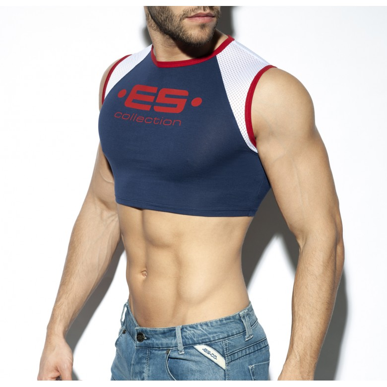 TS267 MUSCLE CROP TOP