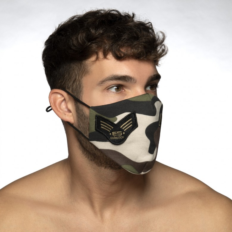 AC130 CAMO FLEECE FACE MASK