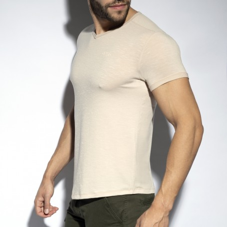 TS283 V-NECK FLAME T-SHIRT