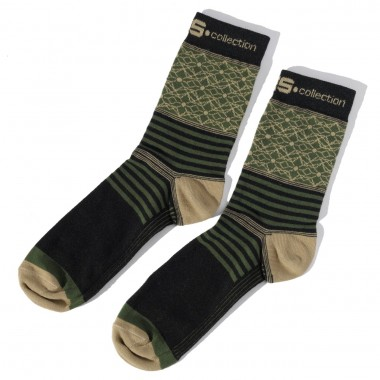 SCK05 COLOR STRAIGHT SOCKS