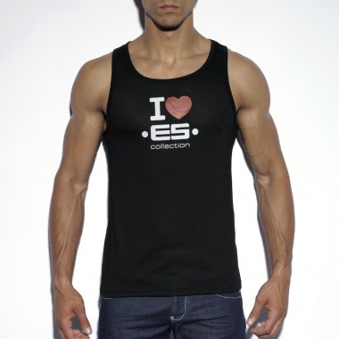 TS183 I LOVE ES TANK TOP