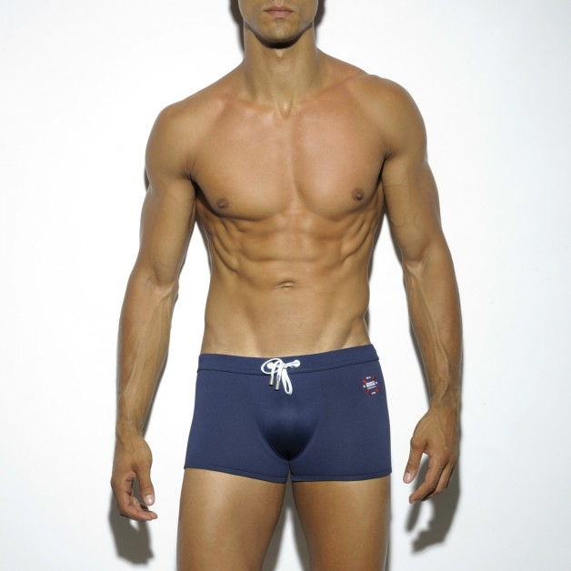 1702 NAVY SHORT BOXER