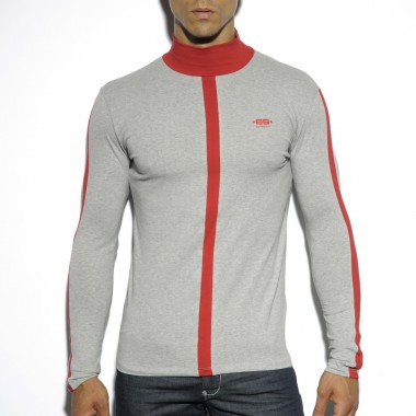TS168 COLOR TURTLENECK T-SHIRT