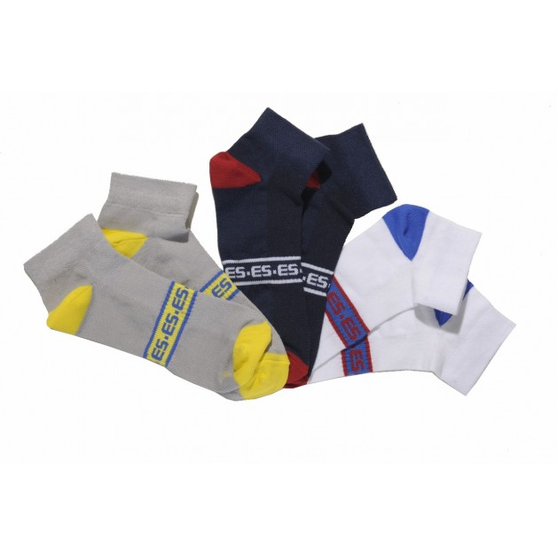 SCK04P PACK 3 ANKLE SOCKS