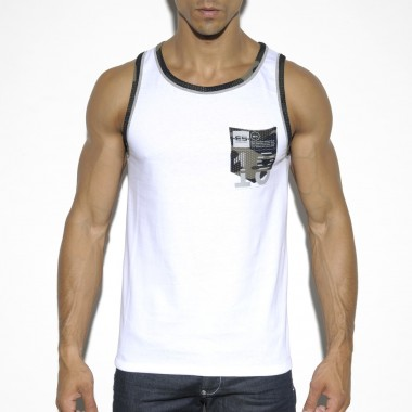TS202 CAMO POCKET TANK TOP