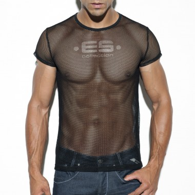 TS209 BASIC MESH T- SHIRT