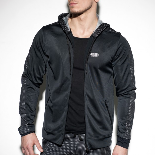 SP144 MATALLIC MESH JACKET