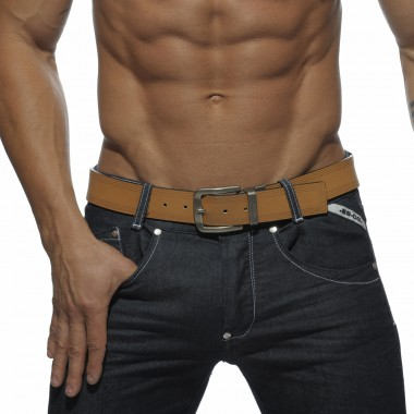 BLT004 TWO TONE REVERSIBLE LEATHER BELT